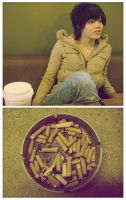 Cigarettes and Coffee. by kaylaesthetic