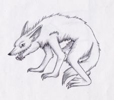 Wolf by my-darkness