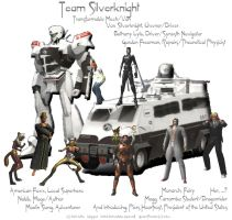 Road Rally - Team Silverknight by lethe-gray
