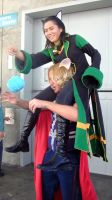 Anime Expo 2012-Loki and Thor 4 by coolpizza16