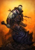 The Orc Warrior by meteorite8