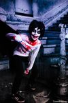 *Contest* Halloween. Jeff the Killer (CreepyPasta) by LicamtaPictures