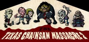 THE TEXAS CHAINSAW MASSACRE 2 by newjackal7