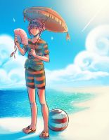EE: Ruler of the Beach by Snow-the-Wanderer