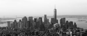 Downtown New York by MissC23