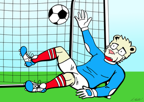 Goal by NeroUrsus
