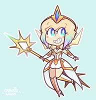 Elementalist Lux ! by amatey