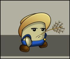 Farmer - Game Character Design - Animated by floopate