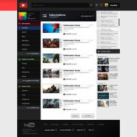 YouTube Redesign by Renacac