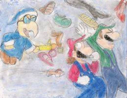 Shoe shoe mario bros by kingofthedededes73