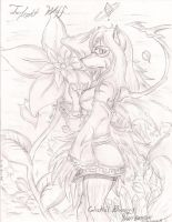Twilight Wolf by Suirano