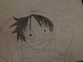 Luffy finished by Rainbowcolt10