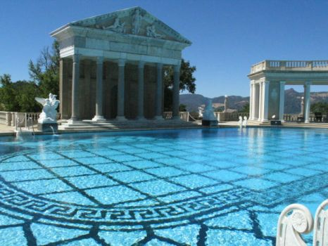 Hearst Castle 2 by HereComesTheSunKing