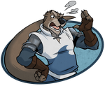 Super Mad Otter Dad by KingdomBlade