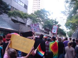 The March for Equality by MissMurder1243