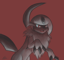 Absol - Palette Challenge by Rabid-Fangirl212