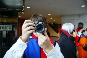 Cosplayer Behind the Lens by EndOfGreatness