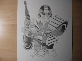 Dredd Day II by 12jack12