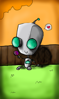 Gir's Lollipop by CaraKrayons