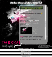 :Poke: Darkrai Free Journal Skin by Hinachuu