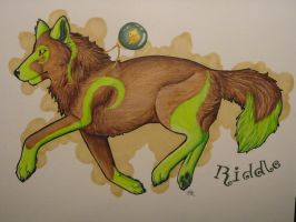 .:Commission:. Riddle by BlueLumi