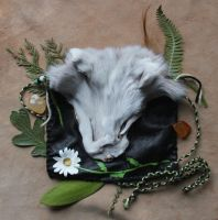 Daisy Fox Pouch by lupagreenwolf
