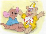 Roo  and  Fozzie  Bear by fredvegerano