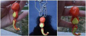 charmander necklace by kunoo