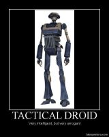 Star Wars The Clone Wars Tactical Droid by Onikage108