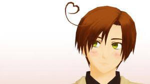 MMD - Who are you thinking of, Romano? by Ayumichigolove