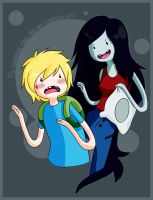 Marceline and Finn by epidemicks