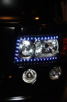 Land Rover Head Lamp by Heavymedicated