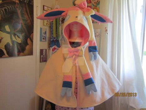 Sylveon caplet by kitten-cupcake