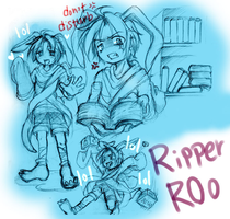 CRB: Ripper Roo  Human Style by sanada-number09