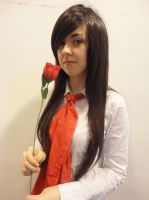 Red rose by BubblesPro