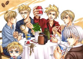 APH Coffee break by Petey-Winter