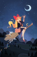 Minako's Delivery Service by nna