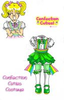 Confection Cuties Costume 3 by YuniNaoki