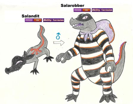 Salandits Male Evolved Form by Wildcat1999