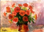 flowers in vase by addy2