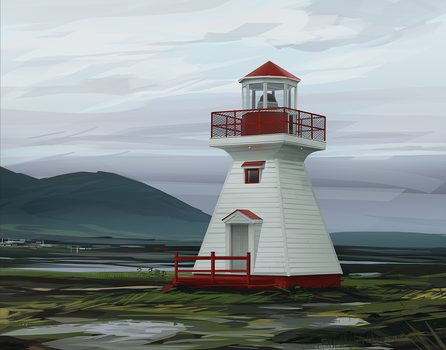 Lighthouse by excatriate