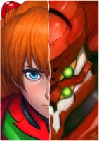 Asuka Eva-02 by Ry-Spirit