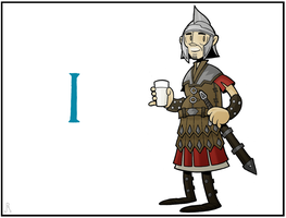 A Very Skyrim Alphabet: I is for... by DrFaustusAU
