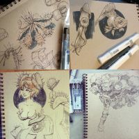 Fall Sketchbook 2014 by taho