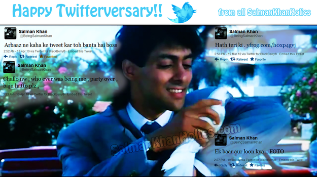 Happy TwitterVersary by SalluLicious