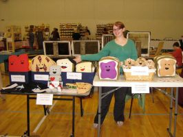 Craft Fair Booth by esillmonday