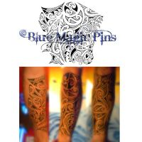 Maori-polynesian tattoo arm by anchica