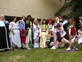 ALL Saiyuki NDK 2010 by kaze333