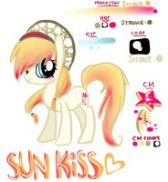 Request: Design an OC for Nyafaithnya SUN KISS by GeekPony