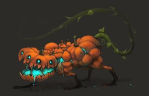 Pumpkin monster by Silverfox5213